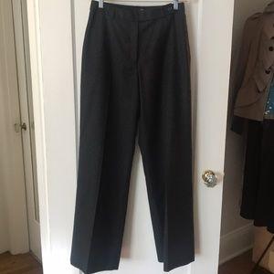 J. Crew High-waisted Wool Trouser